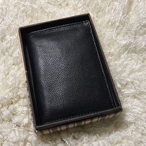 Boconi Leather L-Fold RFID wallet with gift box